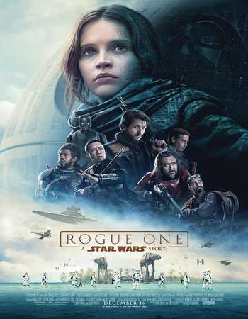 Poster Of Rogue One: A Star Wars Story 2016 English 700MB HDTS x264 Free Download Watch Online downloadhub.net