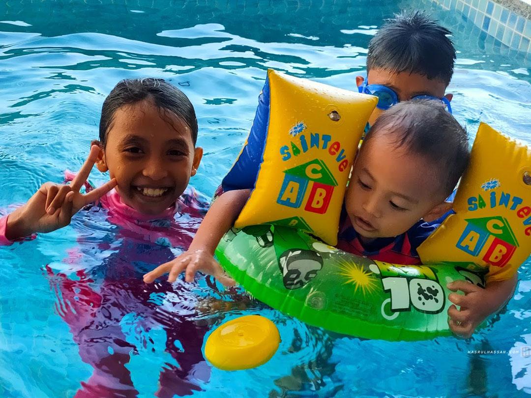 Syok Mandi Kolam Private di Hotel Lexis Suites Penang