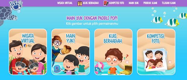 Wisata Virtual Paddle Pop Seaventure