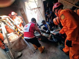 Babinsa Krapyak Bantu Evakuasi Korban Bunuh Diri