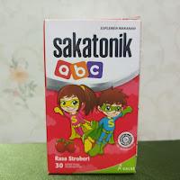 SAKATONIK ABC STRAWBERY BOTOL