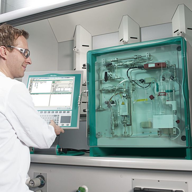 análisis de gases con equipo combinado