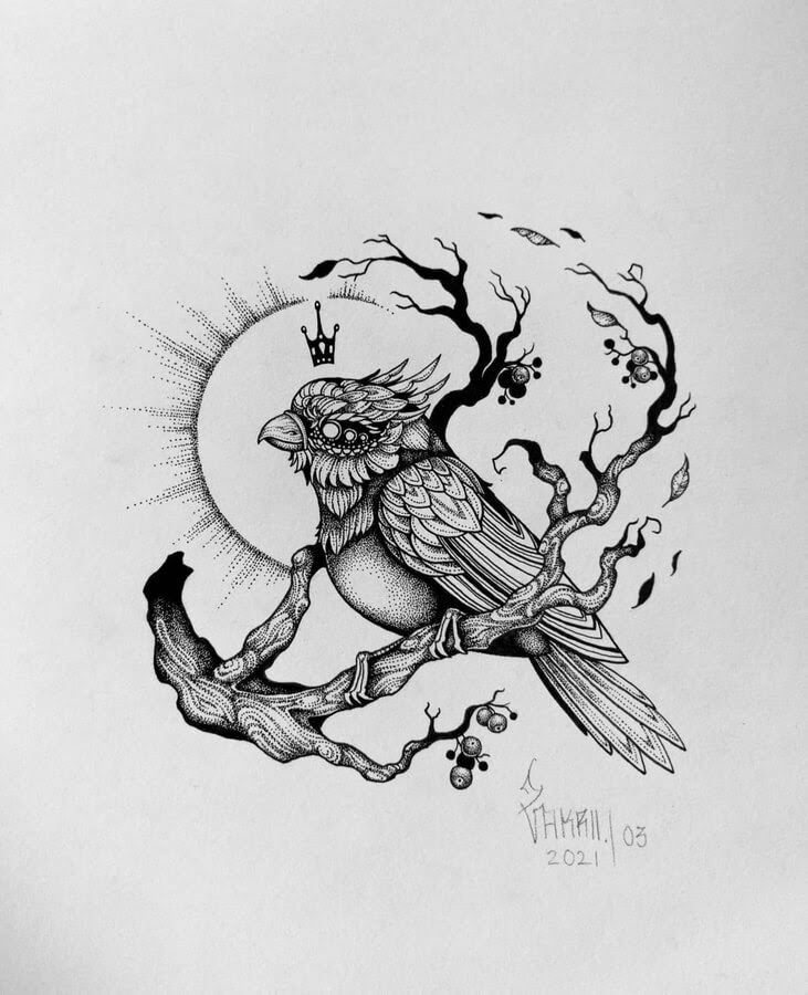 09-Little-bird-in-the-sun-Zakrii-www-designstack-co