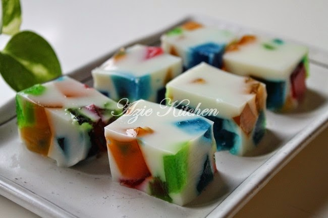 Cantiknya Puding Broken Glass Jello