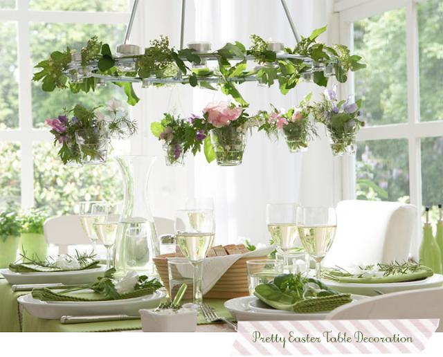 Una mesa fresca decorada con flores y hierbas decorar tu for Foro de decoracion facilisimo