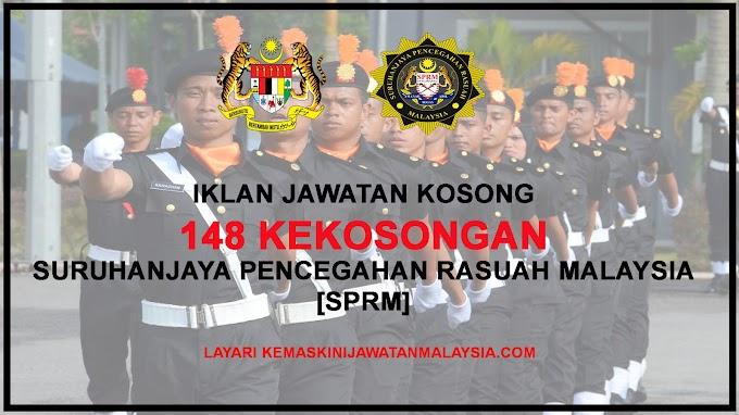 SPRM Buka 148 Kekosongan Jawatan Terkini Seluruh Malaysia