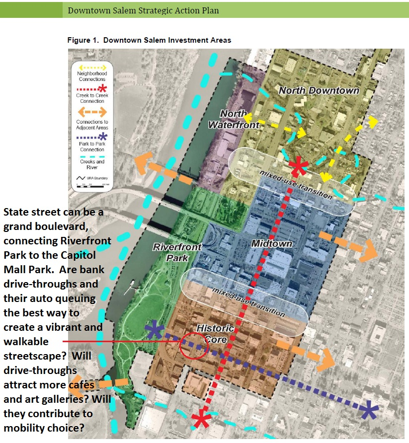 Map Of Downtown Salem Oregon Salem Breakfast on Bikes: New Drive Throughs in Downtown Historic