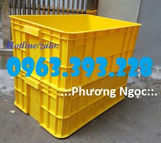 Thùng nhựa HS017, thùng nhựa đặc cao 25, hộp nhựa chứa đồ