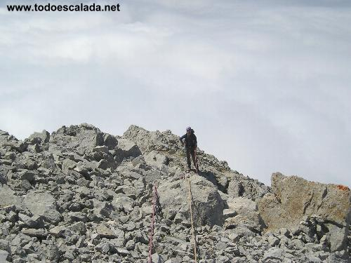 Arista Sur a Peña Olvida, Punta Covadonga