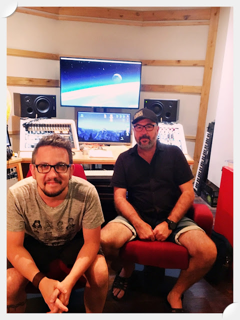 Éric Gagné et Ghislain Leclant, le noyau créatif du projet instrumental 7183