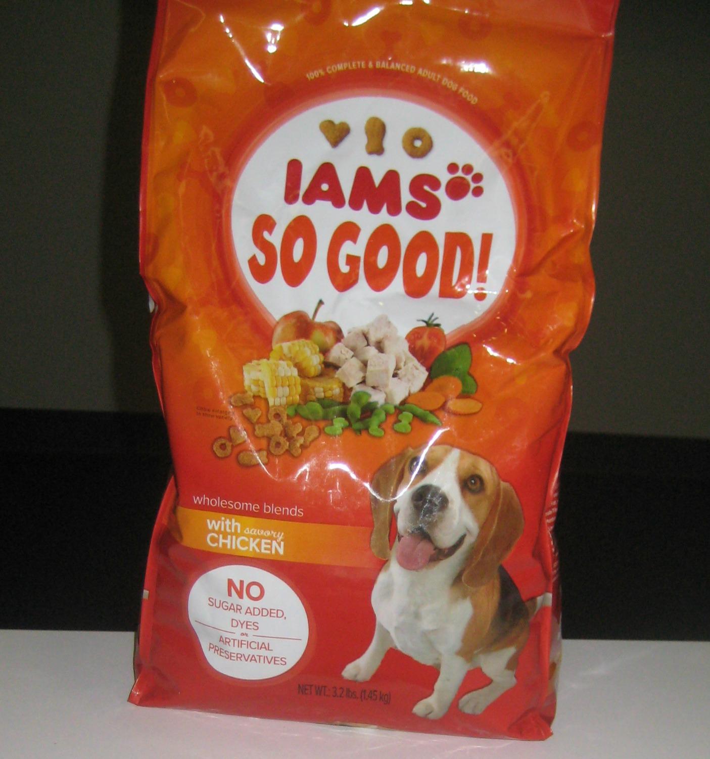 How Much Iams Dog Food Should I Feed My Dog