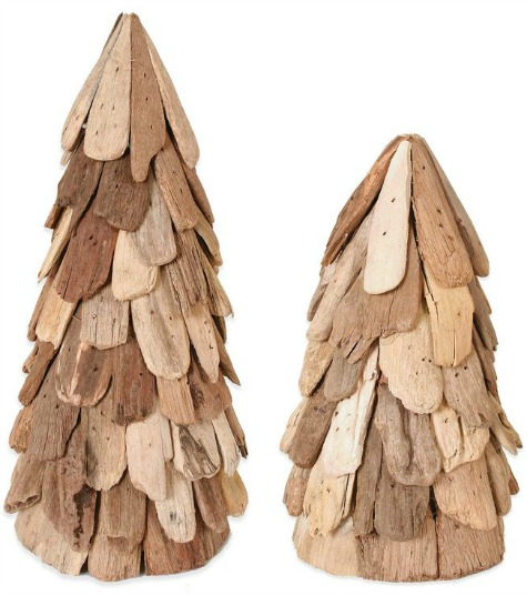 Cone Driftwood Trees