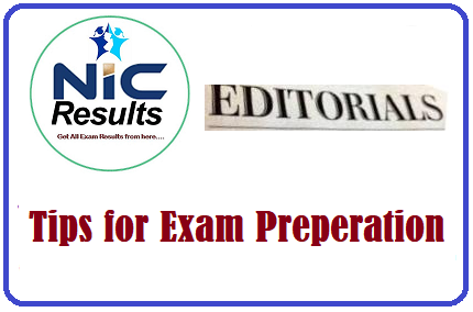 Editorial on Tips for Exam Preparation for Students