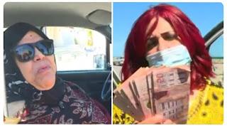 بالفيديو / مسنّة تتبرّع لبرنامج القفة بمبلغ مالي كانت ستجري به عملية جراحية