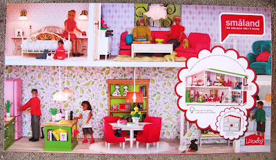 Lundby Smaland 2015 dolls' house, in box.