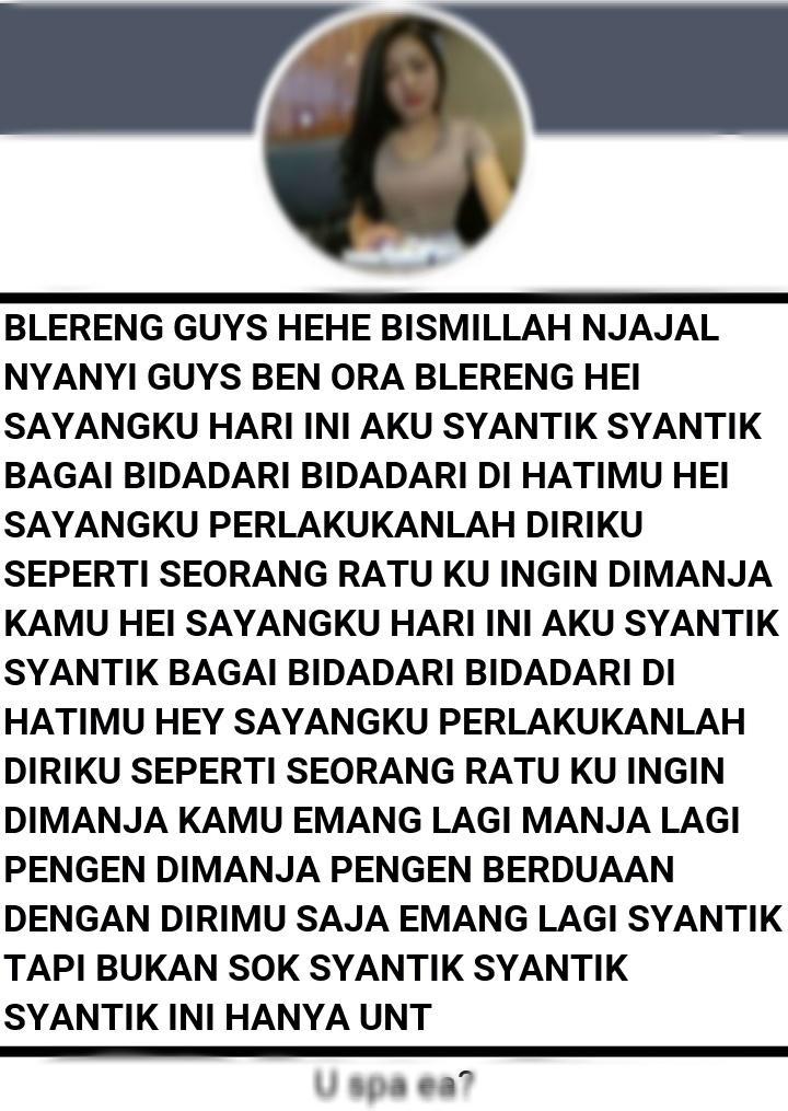 Nama fb lucu Indonesia
