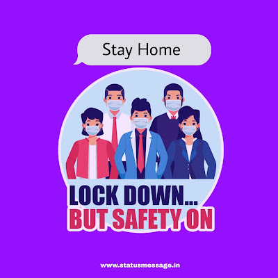 Lockdown whatsapp dp Download, lockdown 5.0, stay home stay safe picture