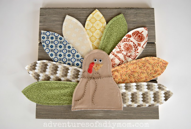 DIY Fabric Turkey Craft