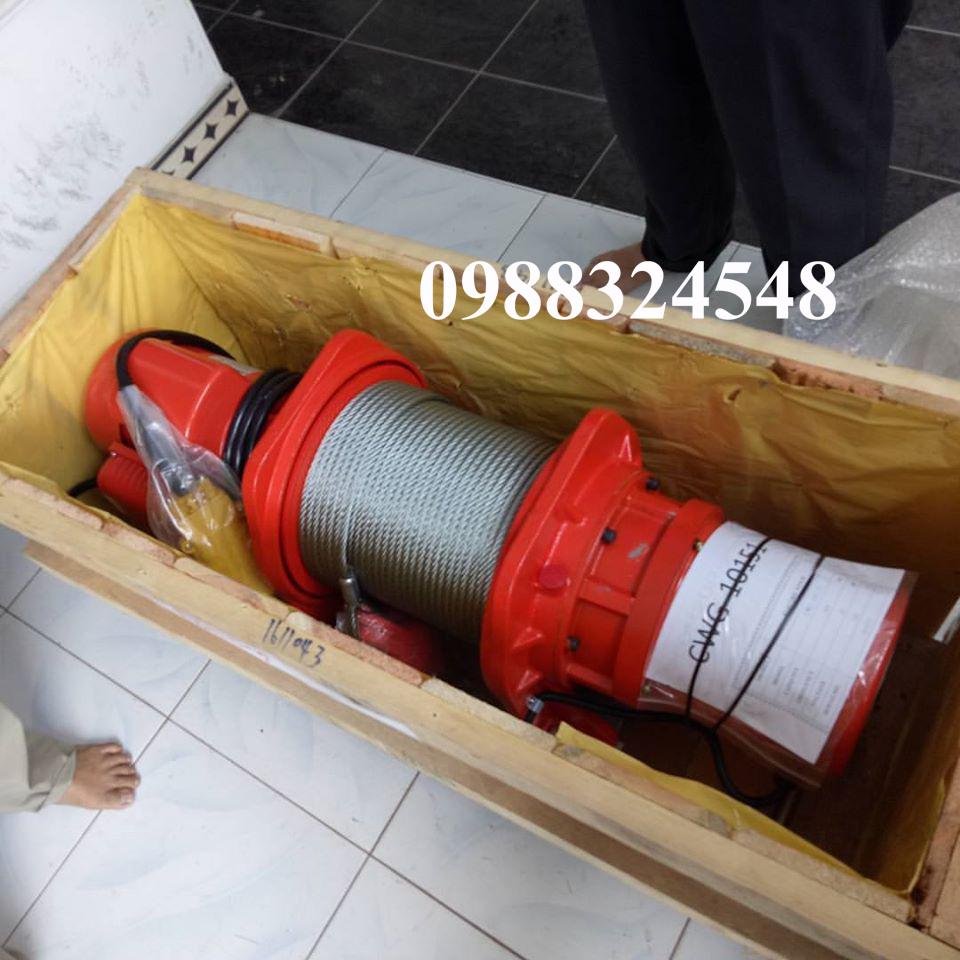 Tời cáp điện Comeup CWG-10151 400kg