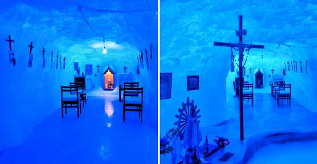 Η Παναγία των Πάγων η εκκλησία στο νοτιότερο σημείο του κόσμου στην Ανταρκτική