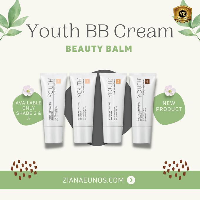 Produk Baru Youth Activating BB Cream dengan SPF 30