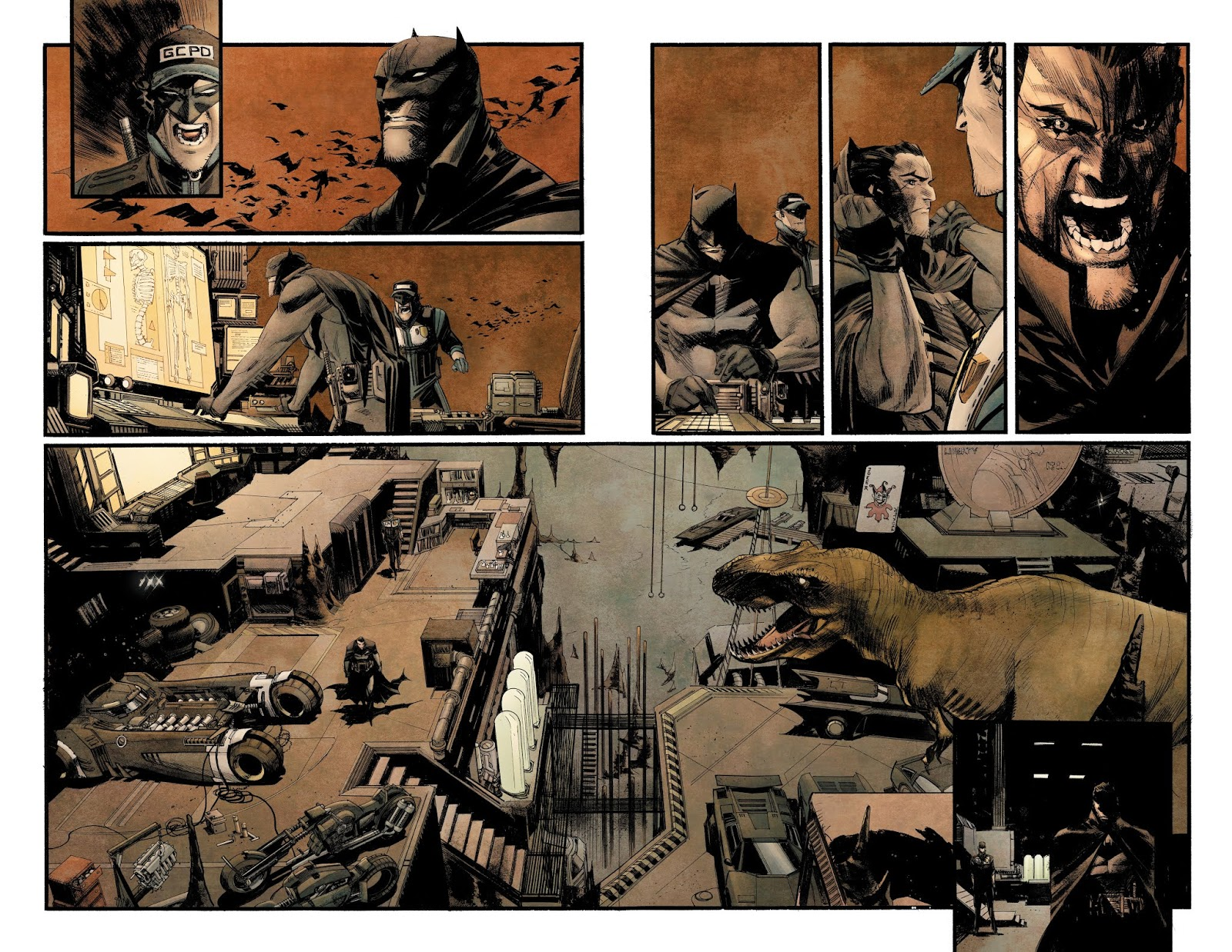 Batman: Curse of the White Knight Preview