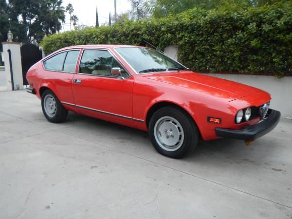 1977 Alfa Romeo Alfetta GT