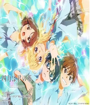 Your Lie In April Anime Episodes in Hindi Dub Download