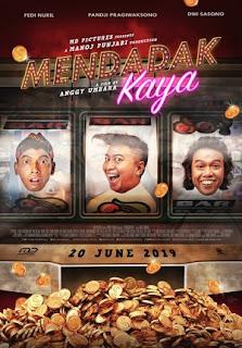Sebuah Film Comedy Indonesia Terbaru Produksi MD Pictures Review Mendadak Kaya 2019 Bioskop