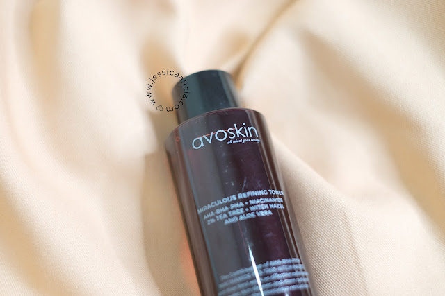 Review : AVOSKIN Miraculous Refining Toner by Jessica Alicia