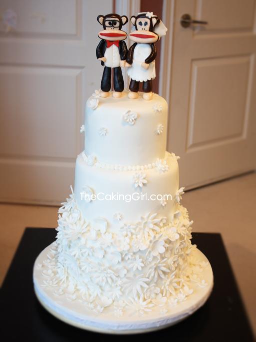 Paul Frank Wedding Cake