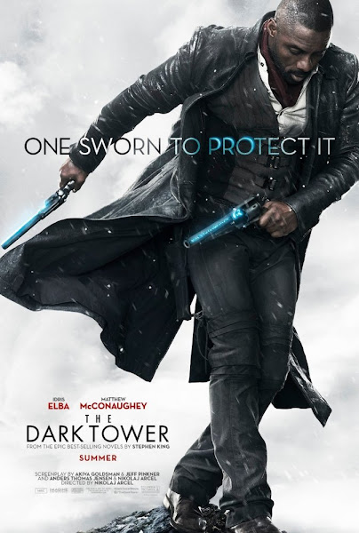 Poster of The Dark Tower 2017 Full Movie [English-DD5.1] 720p BluRay ESubs Download