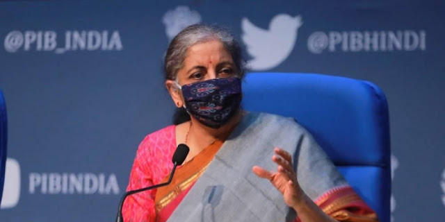 Finance Minister Nirmala Sitharaman will address a press conference at 12.30 pm today. The Finance Minister is expected to announce the third set of stimulus package to boost the coronavirus-hit economy today.