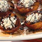 Жареные персики в бальзамической глазури