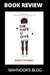 Book Review | The Hate U Give