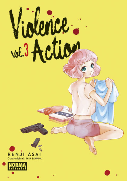 anga: Review de Violence Action Vol 3 de Renji Asai y Shin Sawada - Norma Editorial