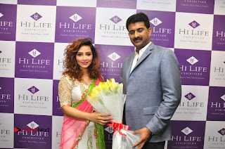 Nikhitha Pictures at Hi Life Exhibition Press Conference