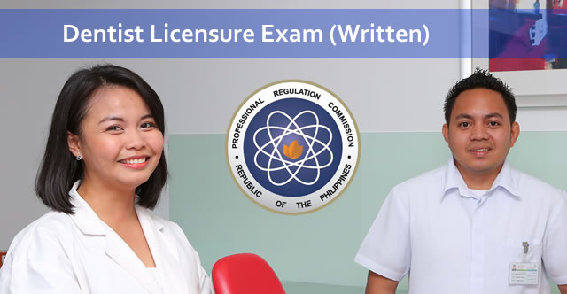 List of Passers: December 2015 Dentist Licensure Examination results PRC (Written)