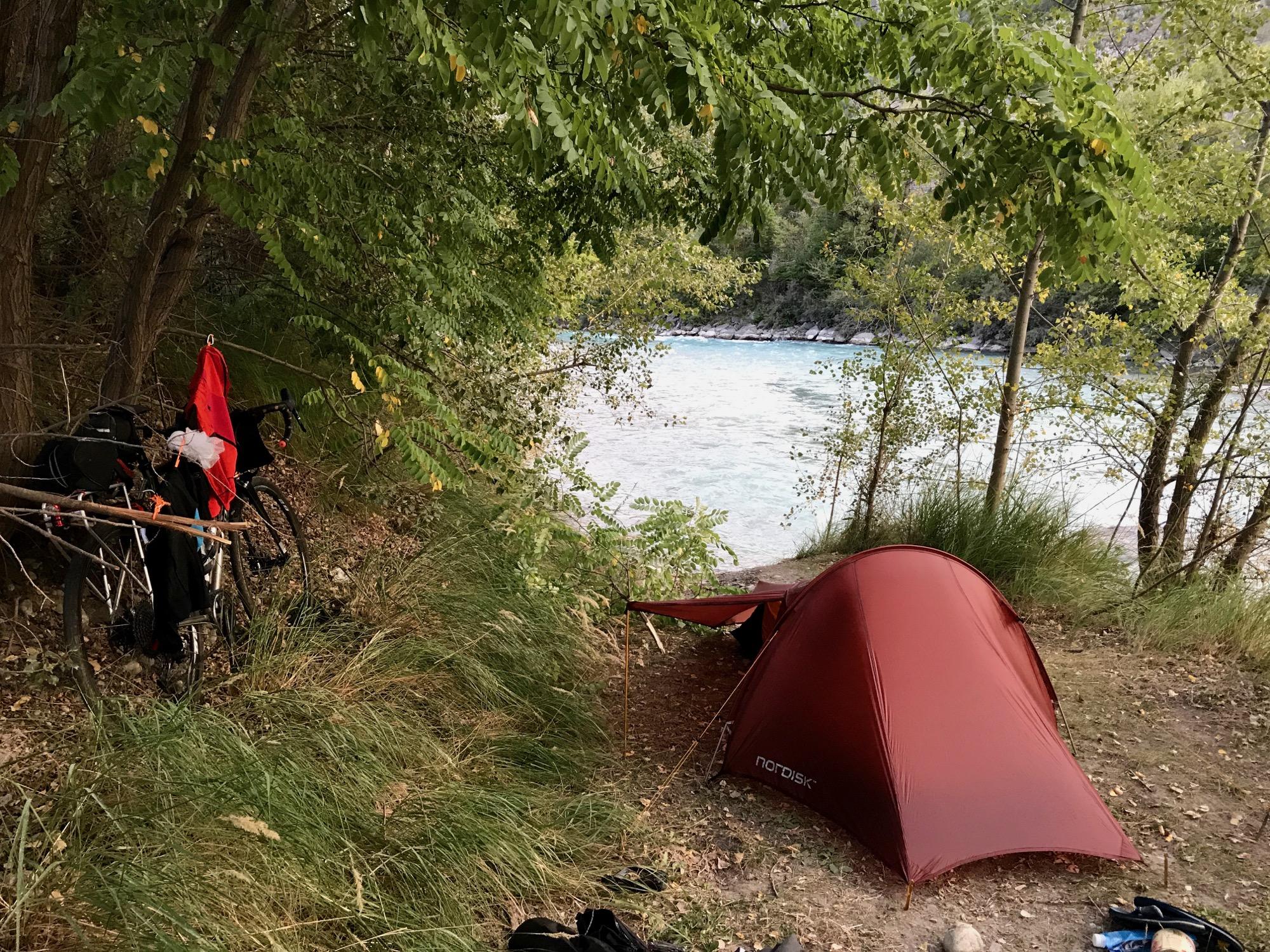 Tim Wiggins Wild Camping Bikepacking Tour