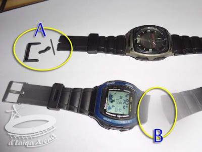 Cara Mengganti Tali Arloji (Pin Pengait Model Pegas)