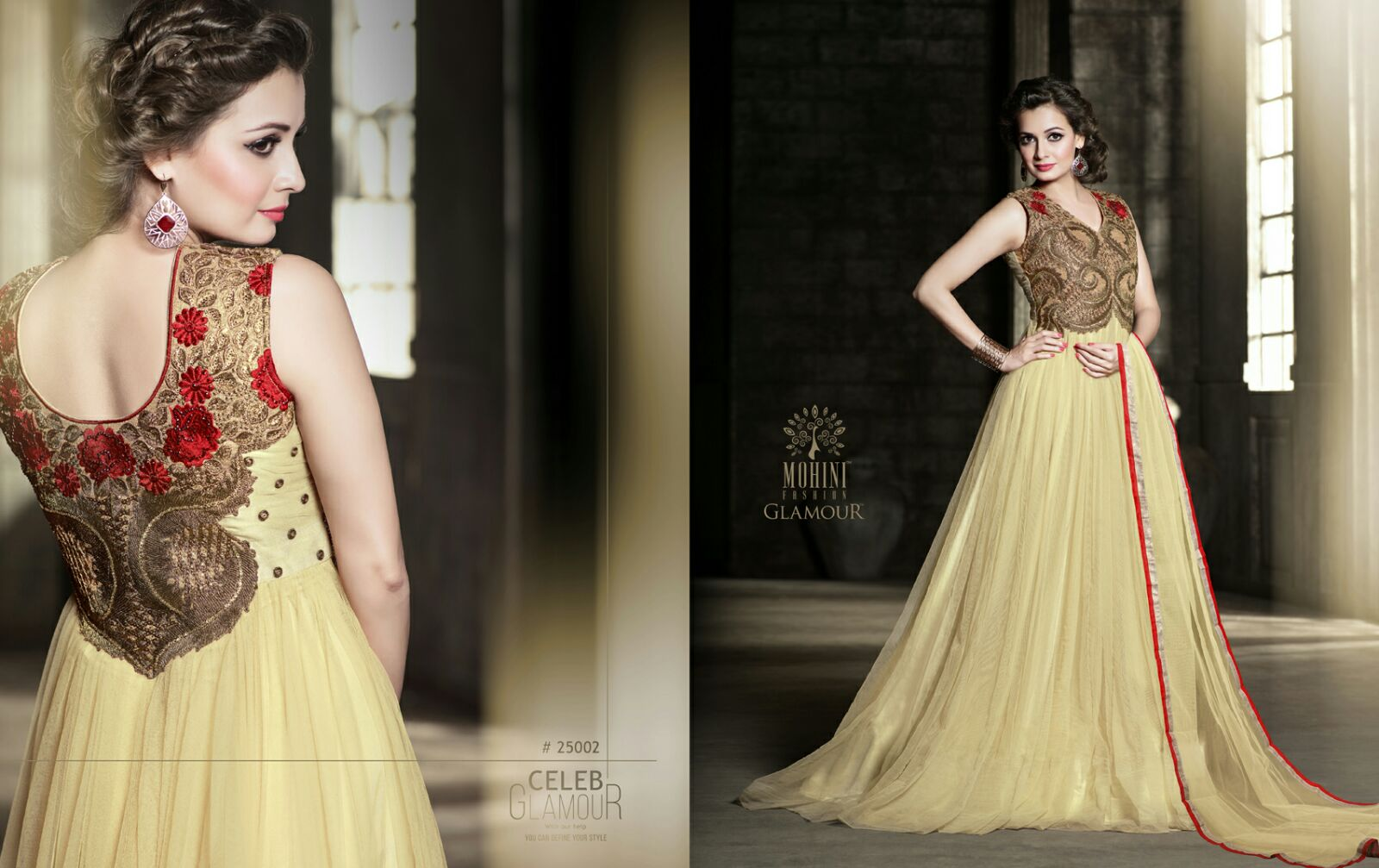 Mohini Glamour - Designer And Stylish Fancy Gown - Helix Enterprise ...