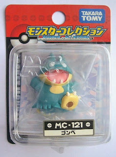 Munchlax figure Tomy Monster Collection MC series