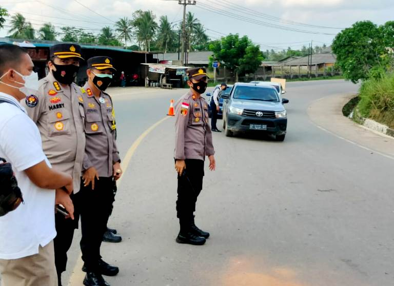 Polda Kepri Tinjau Pelaksanaan PPKM: Usai di Batam, Lanjut Ke Tanjung Pinang