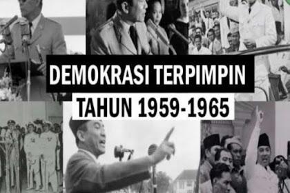 Bab 4 Persatuan dan Kesatuan Bangsa pada Masa Orde Lama (5 Juli 1959 s.d. 11 Maret 1966)