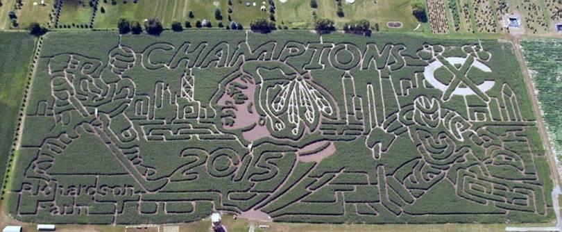 Corn Maze at Richardson Farm (Spring Grove, Illinois)