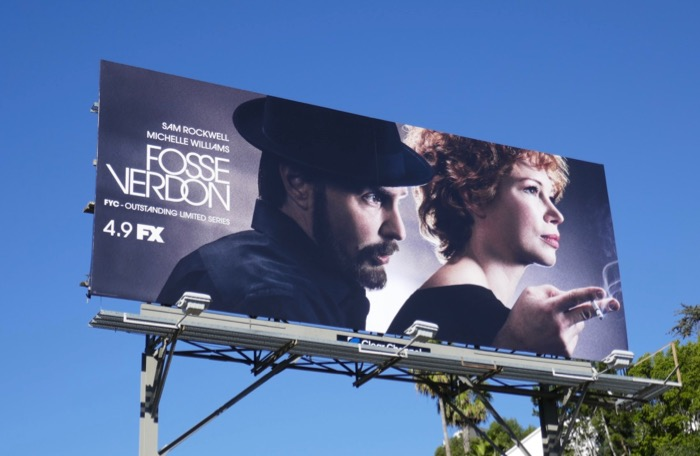 Fosse Verdon series premiere billboard