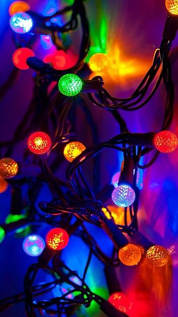 besplatne Božićne slike za mobitel 360x640 free download čestitke blagdani Merry Christmas svjećice za bor