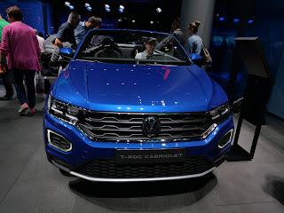 VW T-ROC cabrio premiere