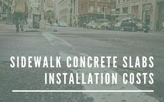 Sidewalk concrete contractors NY