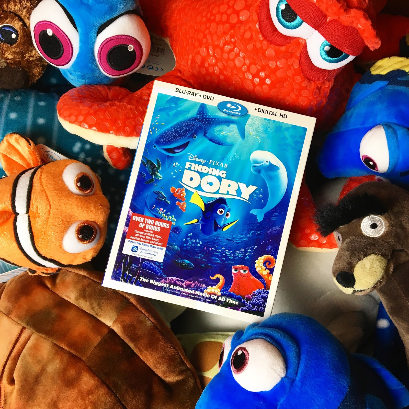 Finding Dory Blu Ray Dvd Review